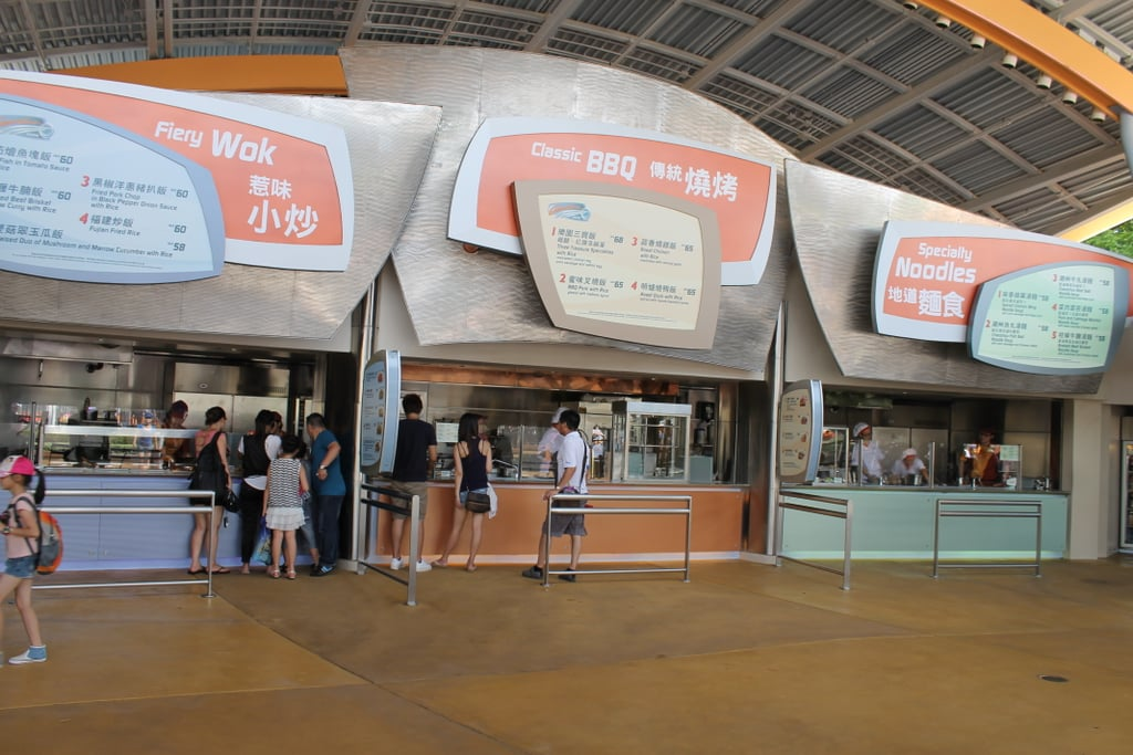 HK Disney helps you kick your Chinese food craving.