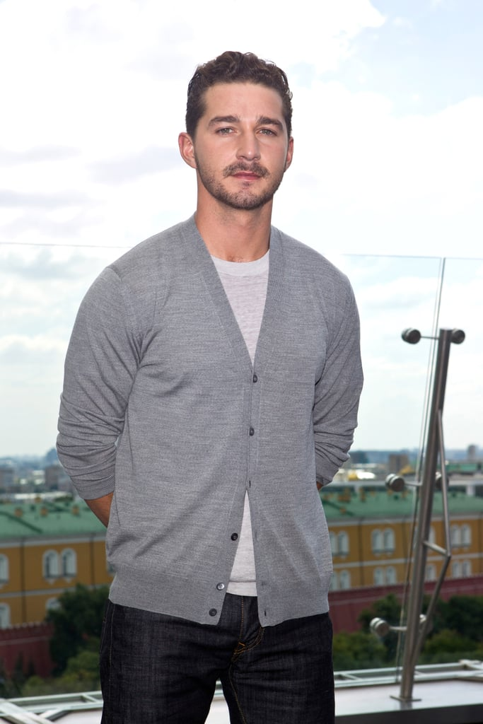 Shia LaBeouf promoted Transformers: Dark of the Moon in Moscow.