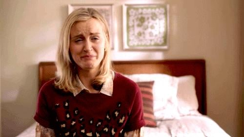 Because of that time Piper cries.