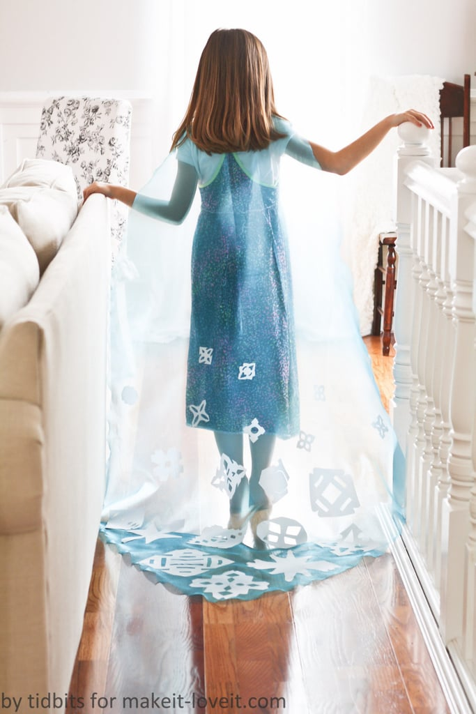 No-Sew Elsa Cape