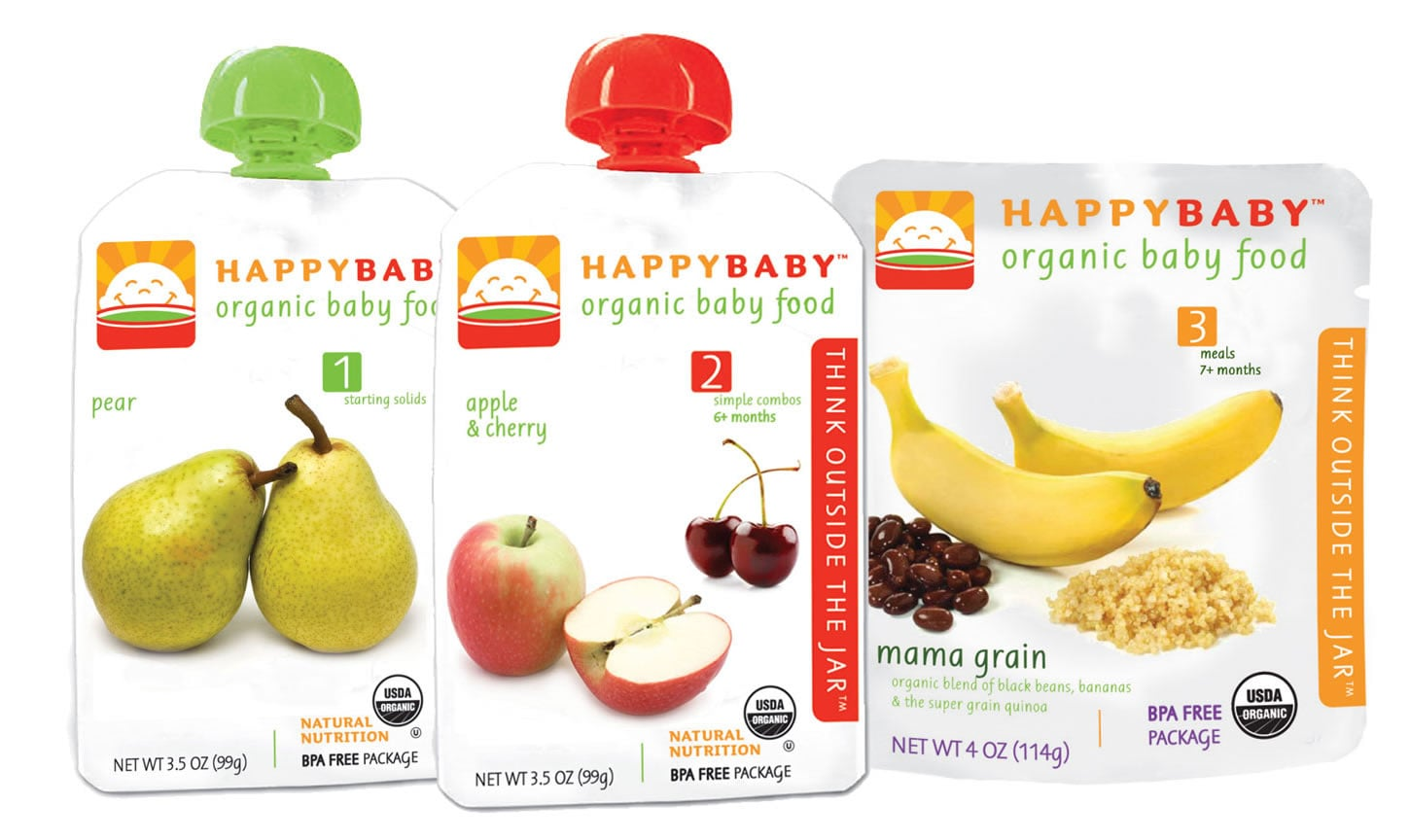 HappyBaby (4-oz Pouch For $1.50)