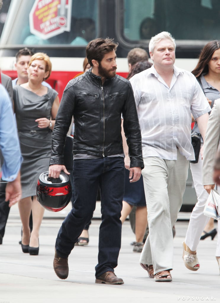 Jake Gyllenhaal shot a scene in Toronto for his next film, An Enemy.