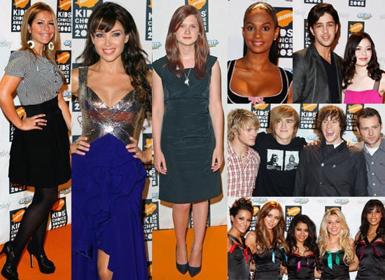 Photos From The Orange Carpet At The 2008 Nickelodeon UK Kids' Choice Awards, Feat. McFly, Josh Peck, Bonnie Wright and more