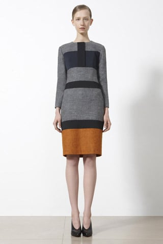 Raf Simons Introduces Scandinavian-Inspired Colors and Colorblocking For Jil Sander's Pre-Fall 2011 Collection