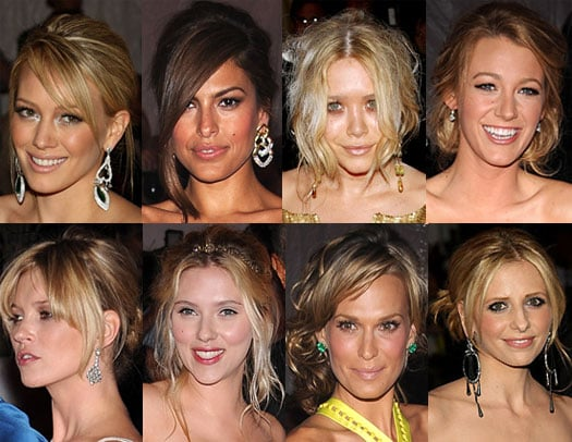 Messy Updo's at the 2008 Costume Institute Gala