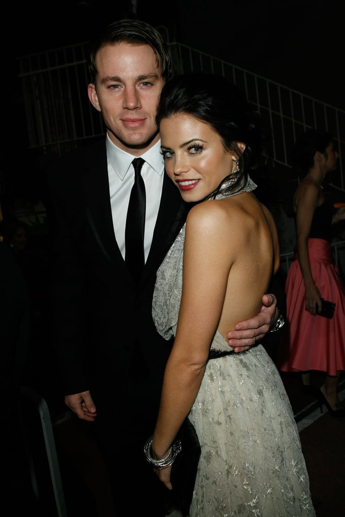 Channing stuck close to Jenna at a black-tie gala in January 2010 in LA.