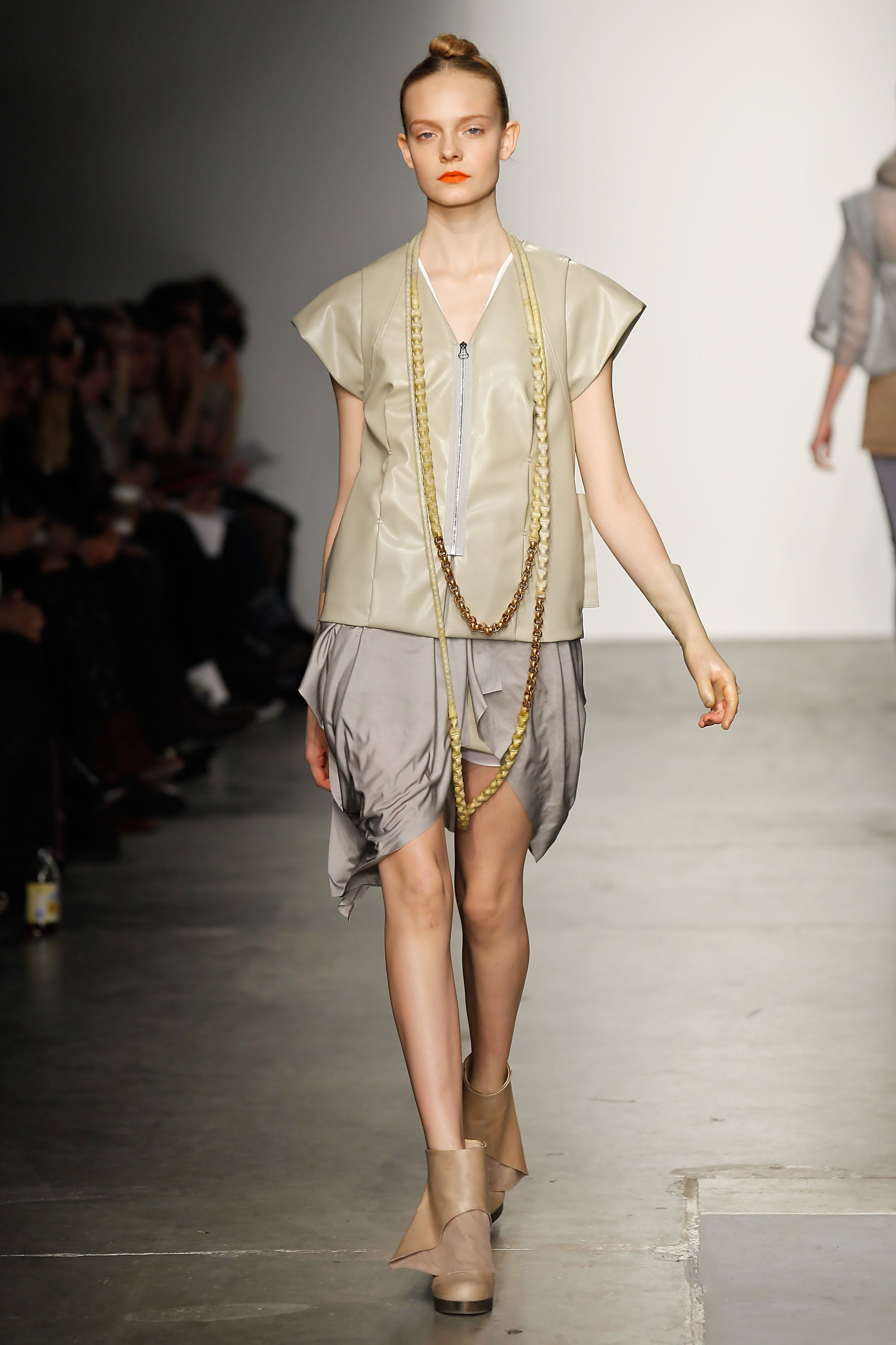 Victoria Bartlett Creates Latex Trench Coats and Skin Suits For VPL's Fall 2011 Collection