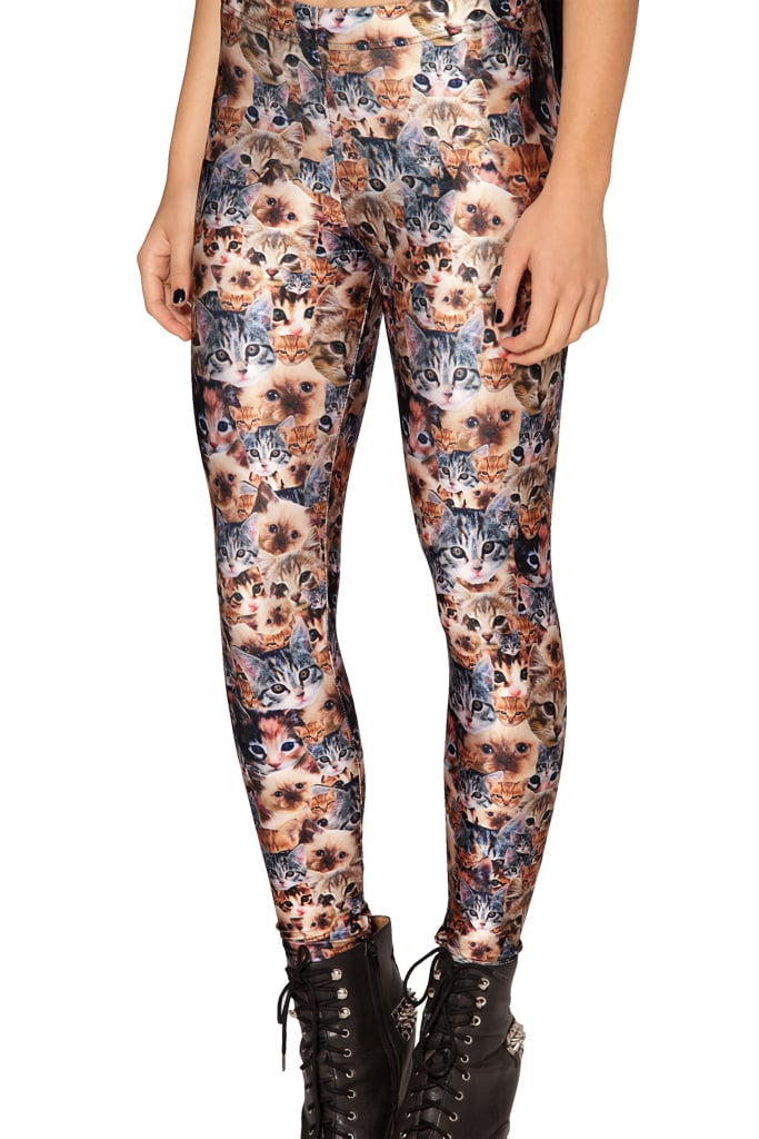 Is there such a thing as too much cat? Try out these crazy cat lady leggings ($66) and see for yourself.