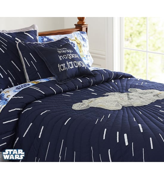 Millennium Falcon Quilted Bedding