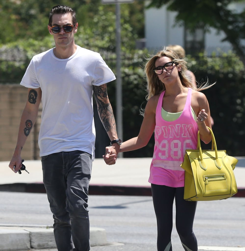 Get a Closer Look at Ashley Tisdale's Massive Engagement Ring
