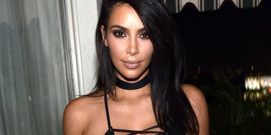 Kim Kardashian's Revealing Dress Is All About Cleavage