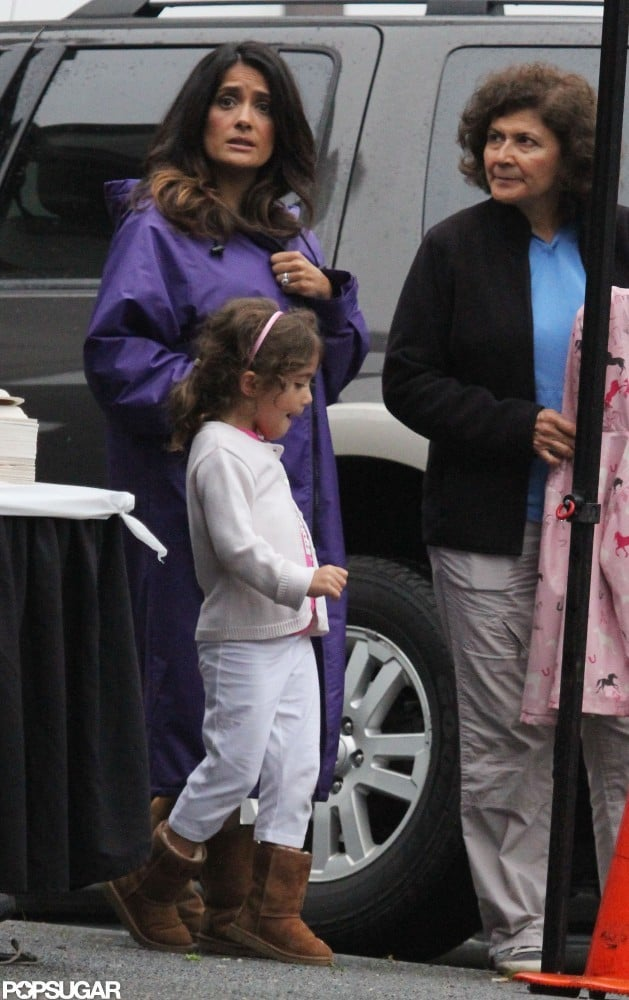 Salma Hayek and daughter Valentina Pinault were together for lunch.