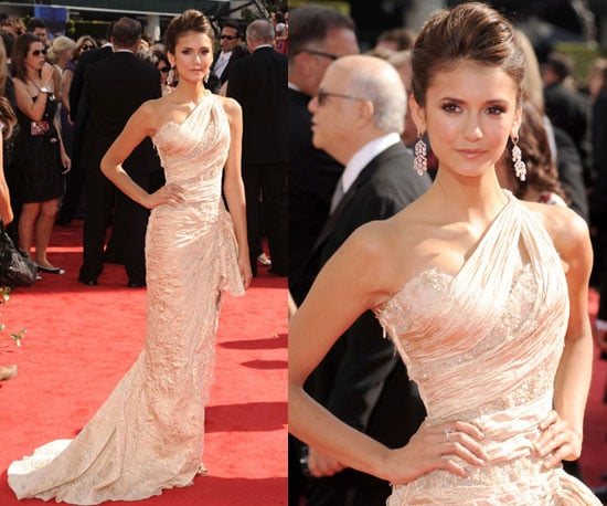 Nina Dobrev at 2010 Emmy Awards 2010-08-29 17:28:28