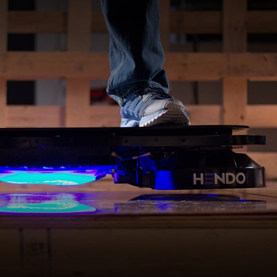 Real Hoverboard Video