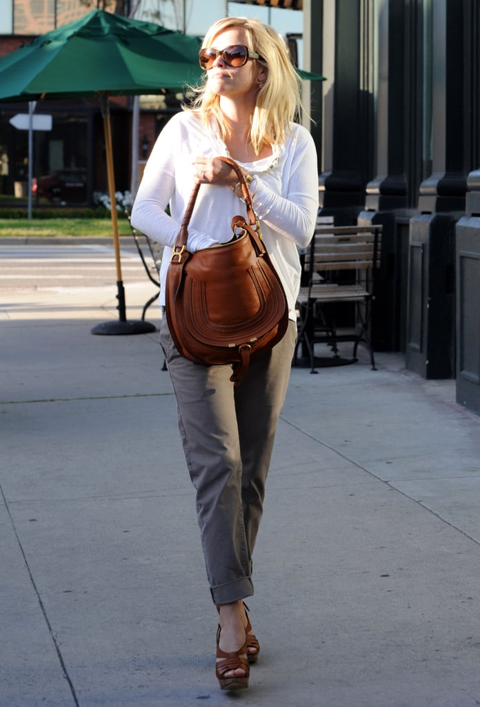 Reese Witherspoon Winds Down Between Her Water For Elephants and Royal Wedding Weekends
