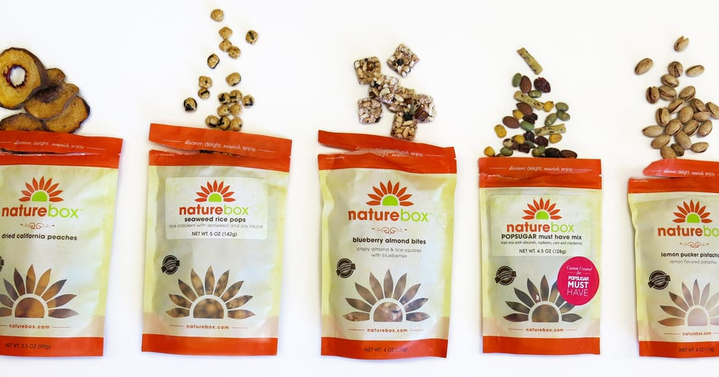 naturebox snacks popsugar must hurry totally custom credit