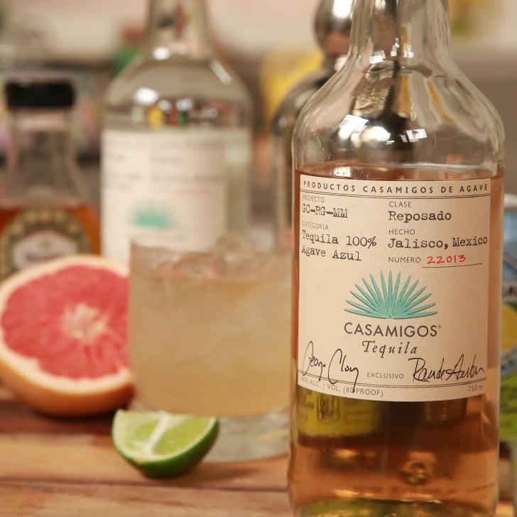 Grapefruit Tequila Cocktail Recipe Video Popsugar Food