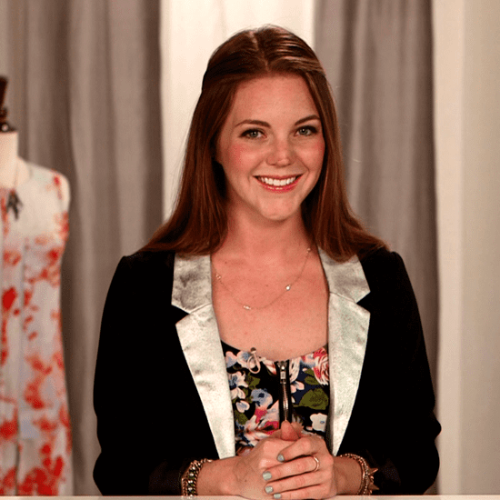 DIY: Make a Blazer With Metallic Lapels (Video)