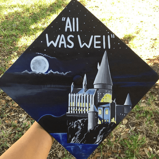 Harry Potter Graduation Cap Ideas