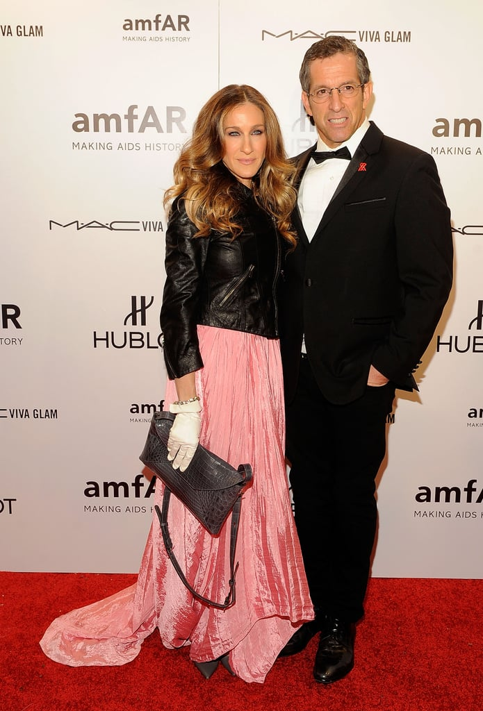 Sarah Jessica Parker and Kenneth Cole smiled for the cameras.