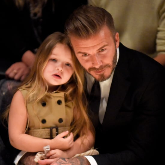David and Harper Beckham Hiking Video April 2016