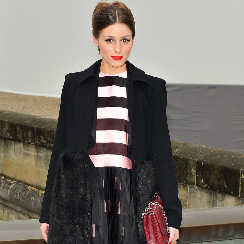 We couldn't stop commenting about how amazing Olivia Palermo looked at the Christian Dior Fall 2013 show.