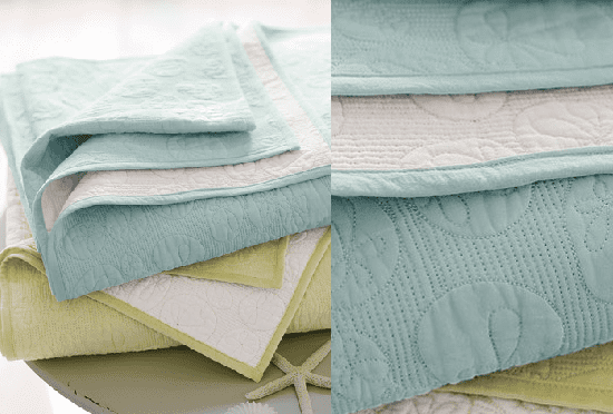 Steal of the Day: Hable Sand-Dollar Quilt and Sham