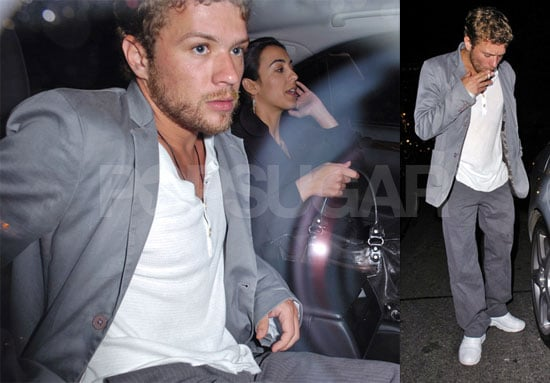 Ryan Phillippe Is Smokin' In London
