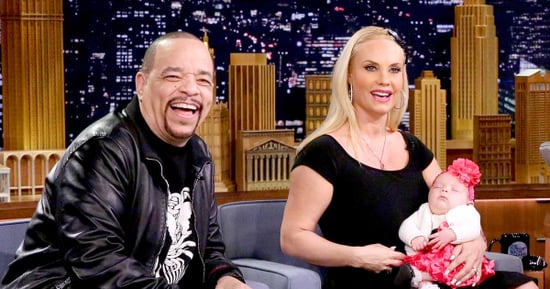 Coco and Ice-T's Baby Daughter Tries Solid Food for the First Time in Cute Video