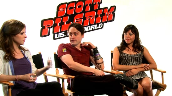 Video of Anna Kendrick, Kieran Culkin, and Aubrey Plaza Interview For Scott Pilgrim vs. the World