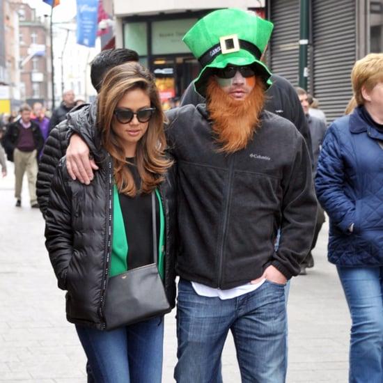 Nick and Vanessa Lachey St. Patrick's Day 2016