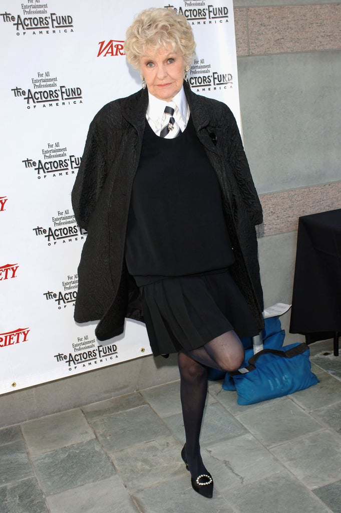 Elaine Stritch at a 2005 Tony Awards Party