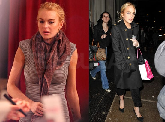 Photos of Lindsay, Ali, And Dina Lohan Shopping in NYC