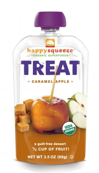 Happy Family Happy Squeeze Caramel Apple Treat