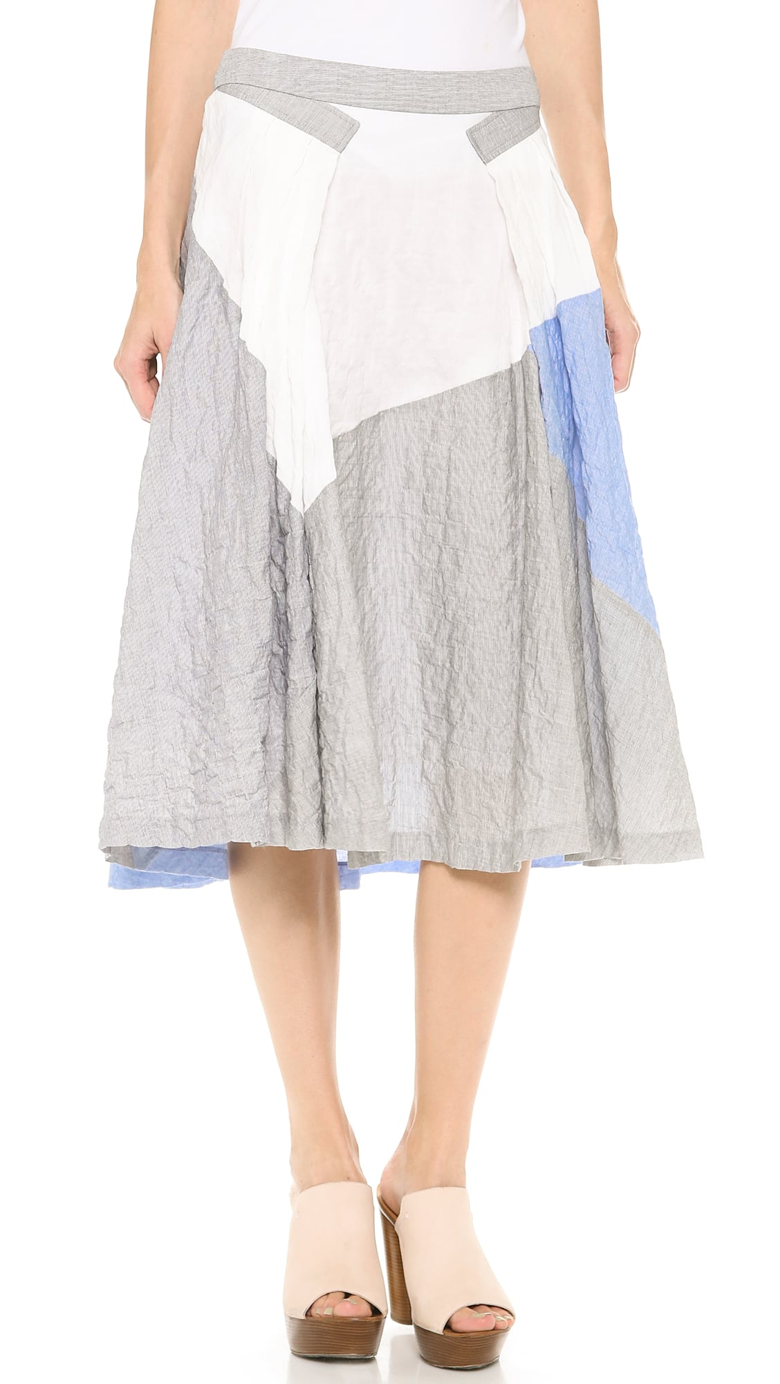 10 Crosby Derek Lam Full Skirt