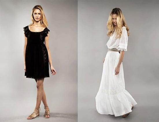 Emma Watson for Alberta Ferretti Launches for Spring 2011