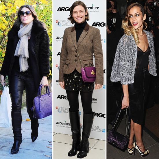 Purple Purse Trend for Autumn 2012