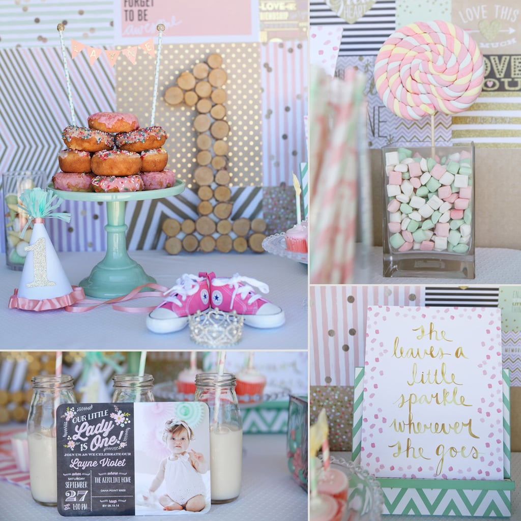 1st Birthday Party Decorations Image Inspiration of Cake and