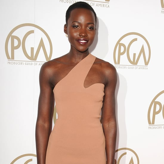 Lupita Nyong'o in Nude Dress at the Producers Guild Awards