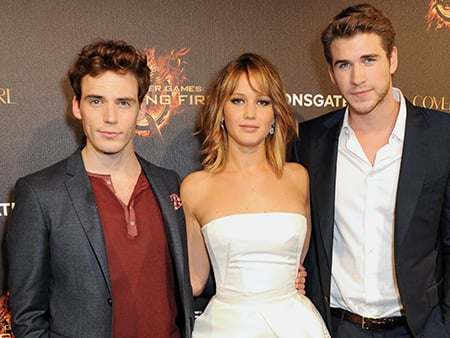WATCH: Find Out Why Jennifer Lawrence Is Sam Claflin's Hero