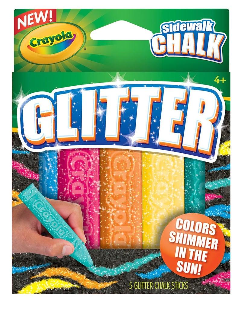 Crayola Neon Glitter Chalk