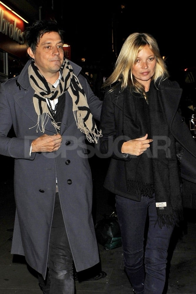 Kate Moss and Jamie Hince spent their date night at the movies.