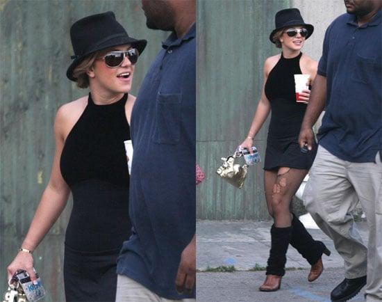 Britney's Dancer Piques Our Curiousity