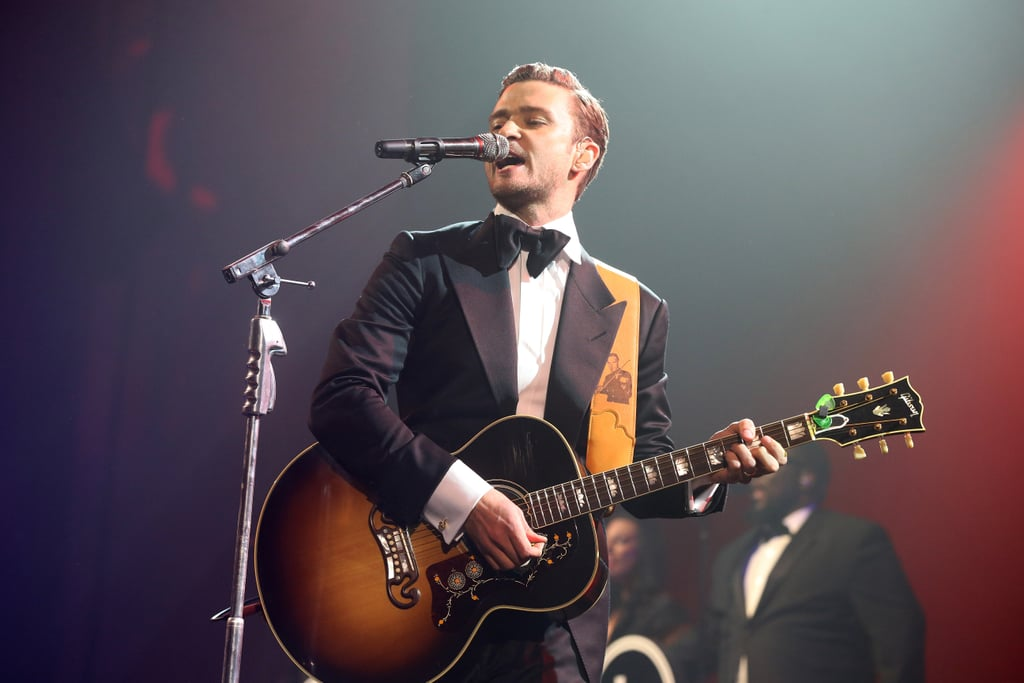 Justin Timberlake gave a spectacular live performance in New Orleans the Saturday before Super Bowl Sunday in 2013.