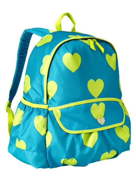 Gap Senior Heart Print Backpack