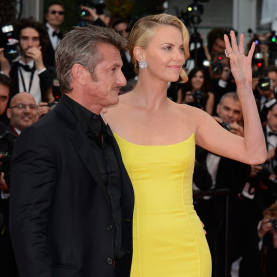 Charlize Theron Flaunts a Huge Rock on the Red Carpet With Sean Penn