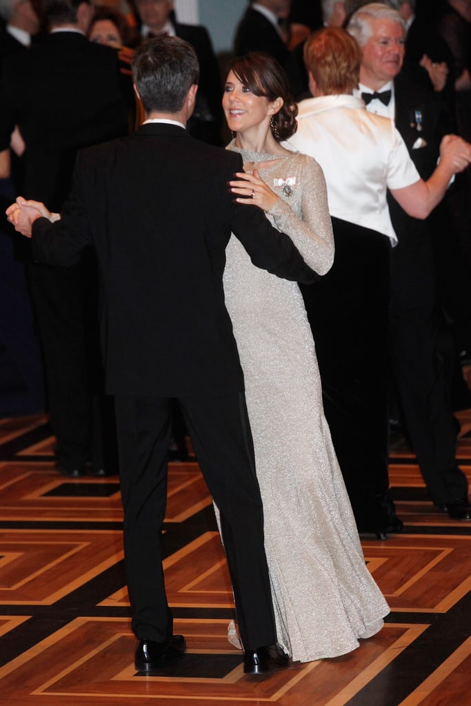 Scope Princess Mary's Dance Floor Dress, From All Angles!