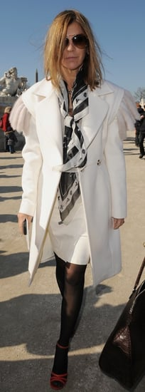 Celebrity Style: Carine Roitfeld