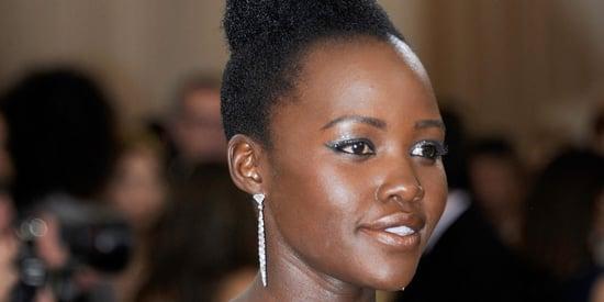 Lupita Nyong'o Wore A Nina Simone-Inspired Hairstyle To The Met Gala