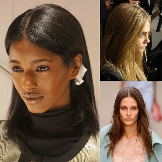 Burberry Prorsum Spring 2014 Beauty | Backstage Pictures